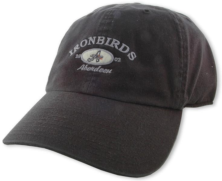 CPIB03 Cap Ironbirds Arch Oval Black