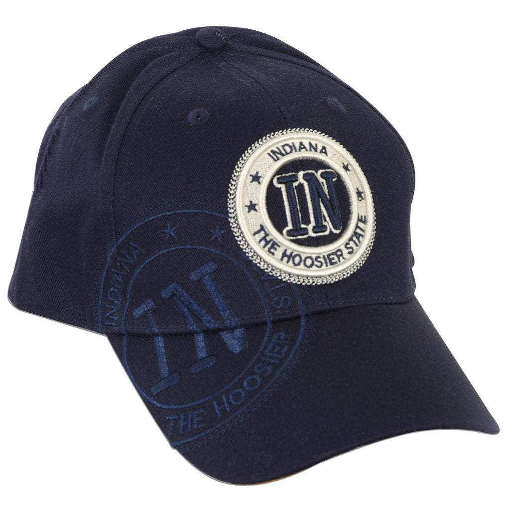 CPIN02 Cap / Indiana IN Stamp - Navy