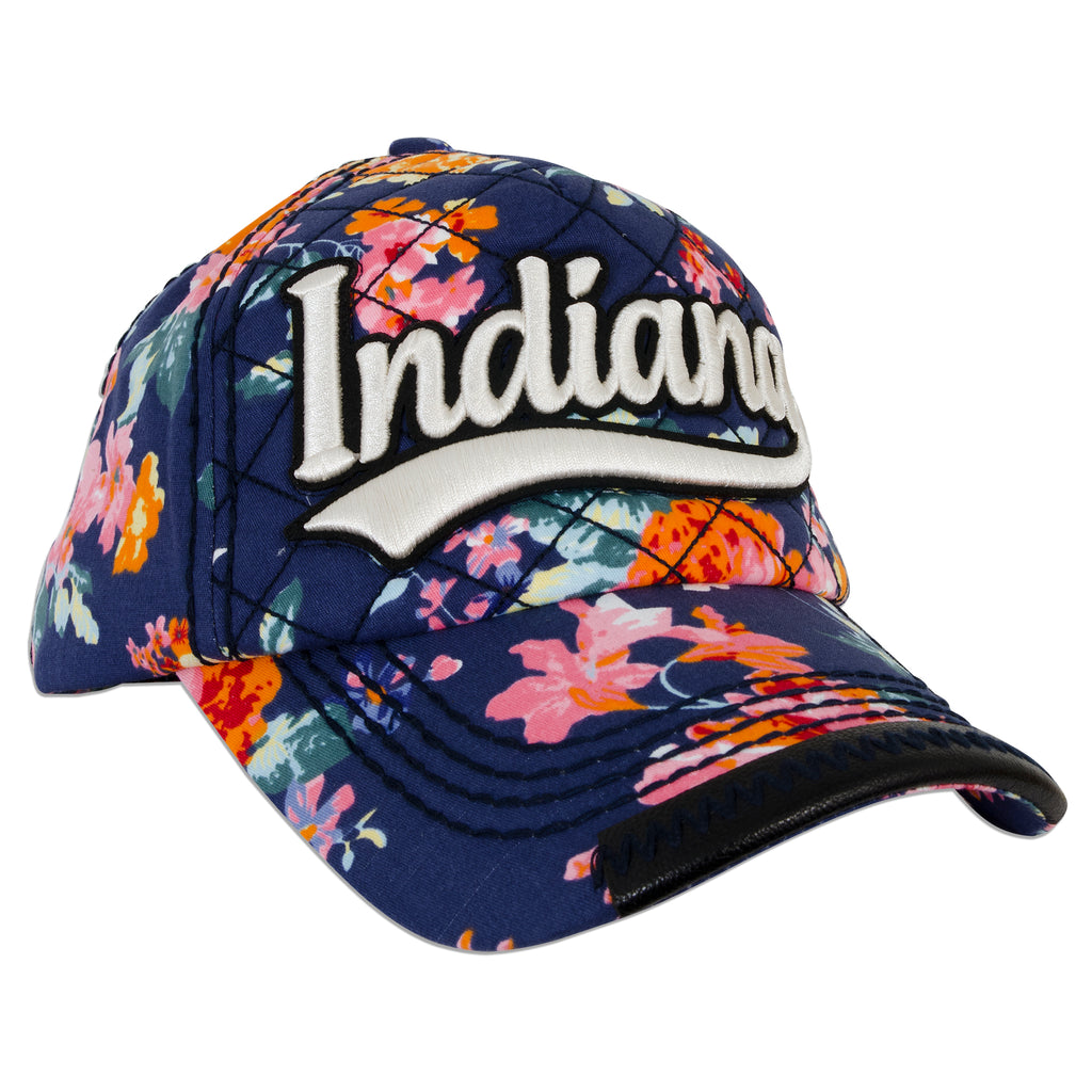 CPIN05 Cap - Indiana Flowers NAVY