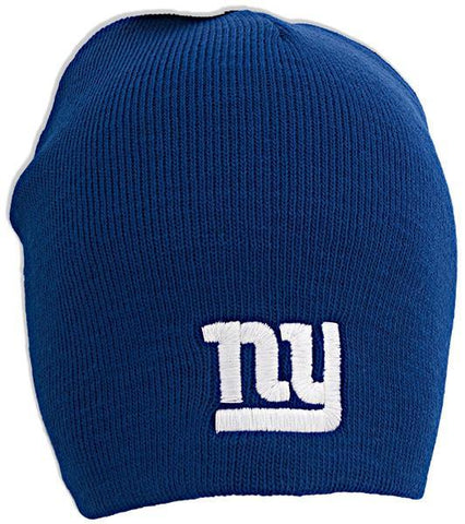 CPNG06 Cuffless Beanie NY Giants Logo BLUE