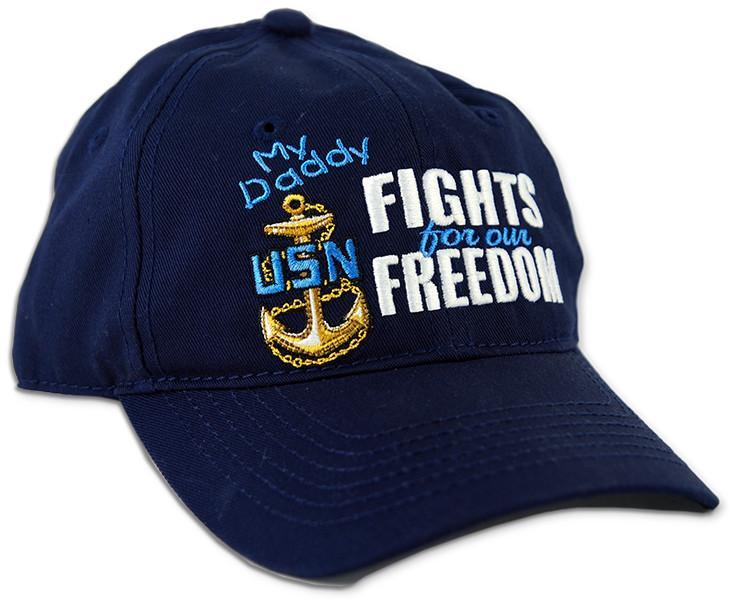 CPNN05 Cap Navy My Daddy Fights For Our Freedom