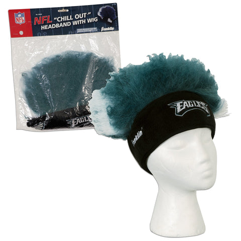 CPPE13 Headband with Wig - Philadelphia Eagles