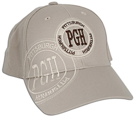 CPPG08 Robin Ruth Cap Pittsburgh Stamp PGH Khaki