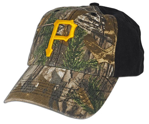 CPPG15 Baseball Cap - Pittsburgh Pirates Winchester CAMO/BLACK