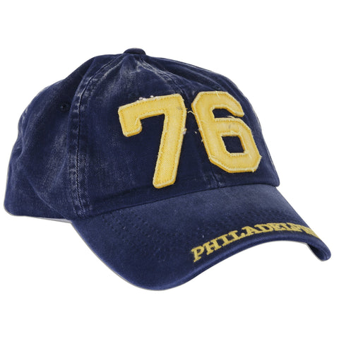 CPPH10 Robin Ruth Cap 76 Philadelphia Washed Denim