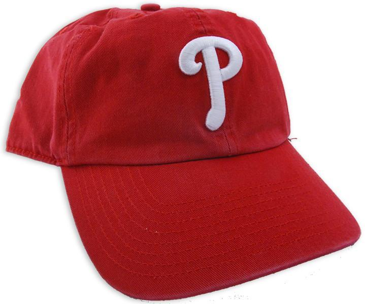 CPPP01 Cap Phillies Clean-Up RED