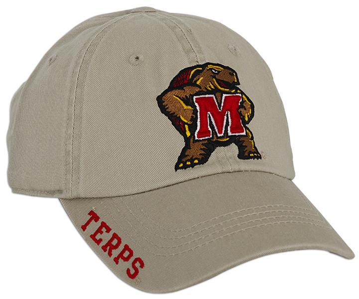 CPUM12 Cap University of Maryland Khaki FRTR