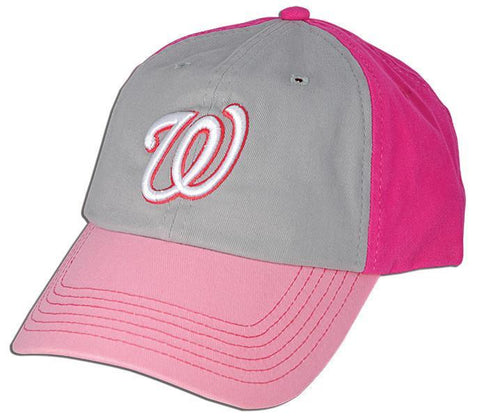 CPWN13 Cap - Washington Nationals Colle 3-TONE PINK