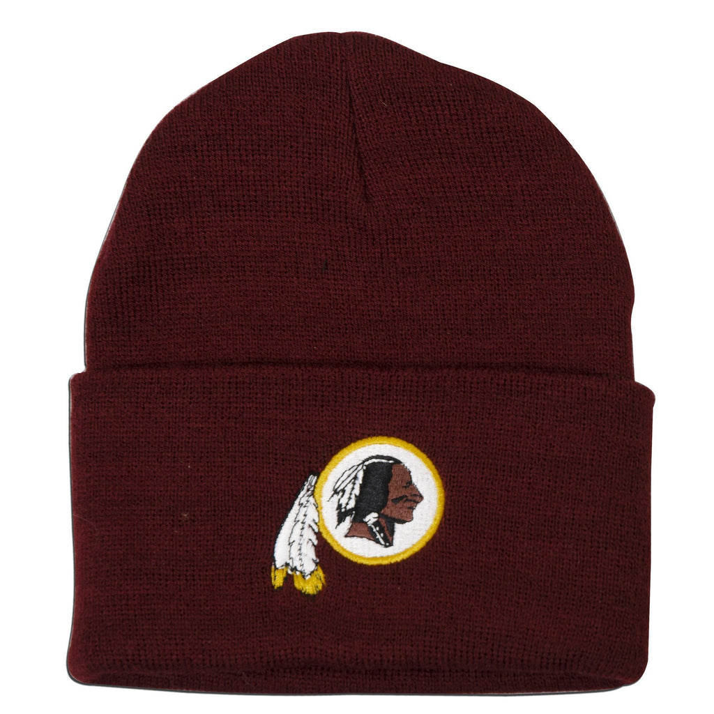 CPWR09 Knit Beanie / Maroon - Redskins