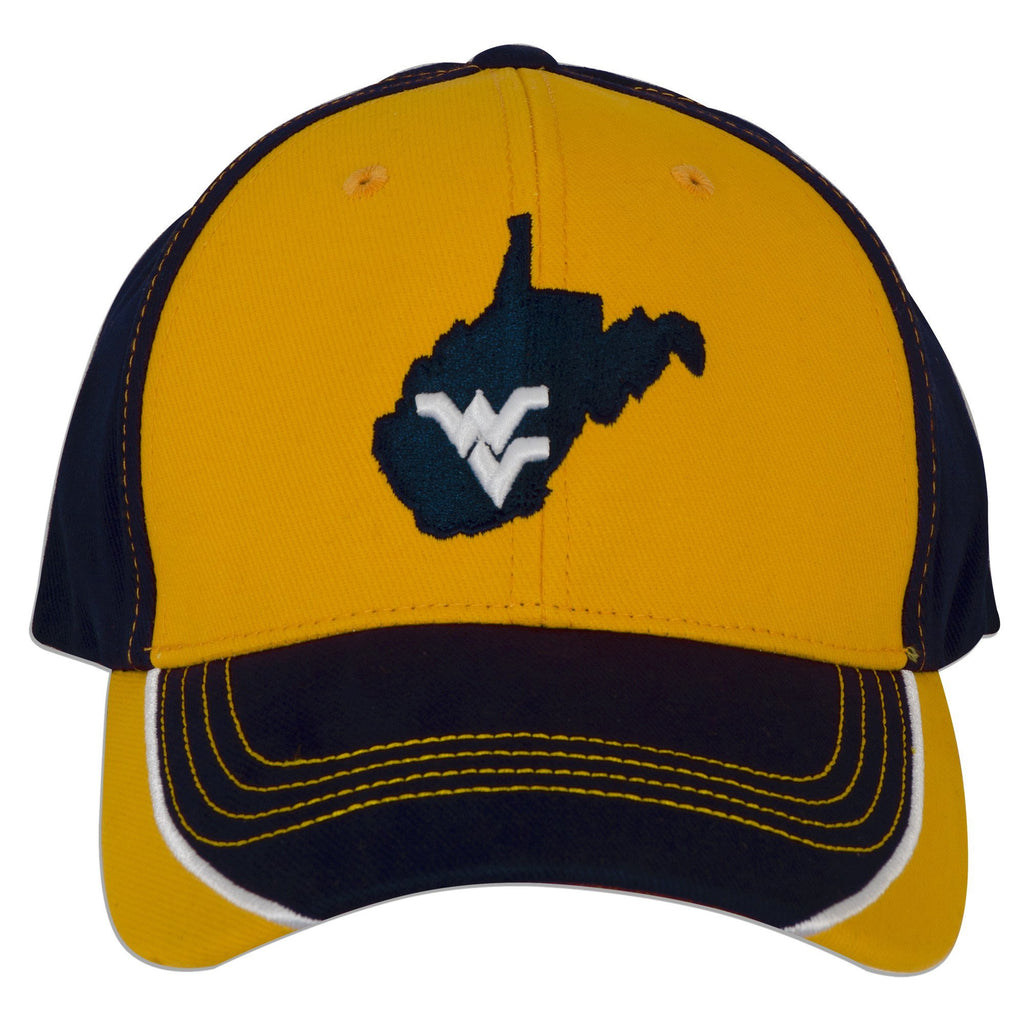 CPWU01 Cap West Virginia University Map with WV CUTTR