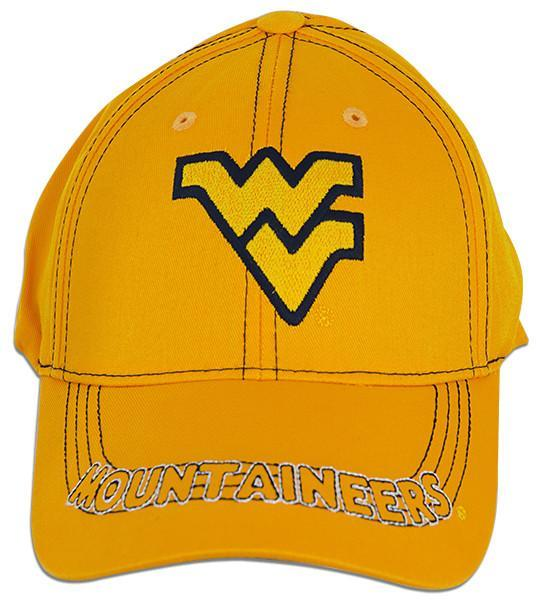 CPWU03 Cap West Virginia University First String GOLD