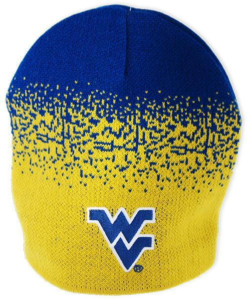 CPWU58 Knit Cap Cuffless Beanie West Virg U Spray