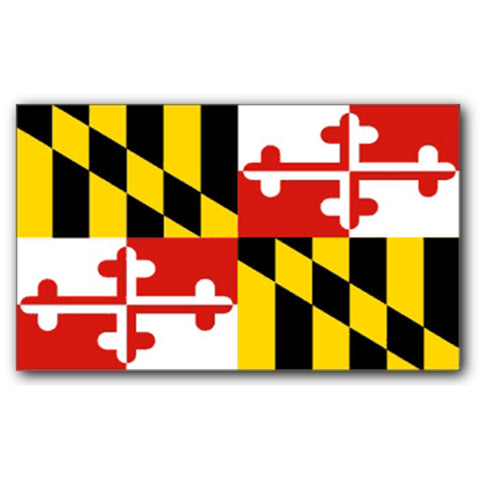 FLMD2 Flag 3 X 5 Large Maryland