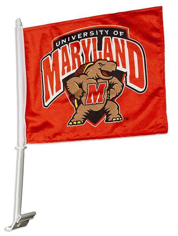 FLUM01 Car Flag University of Maryland Terps