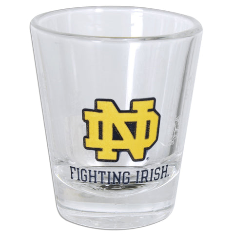 GLND01 Shot Glass - Notre Dame Satin Etch