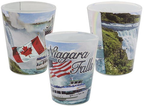 GLNF07 Shot Glass Wrap Niagara Falls Photos