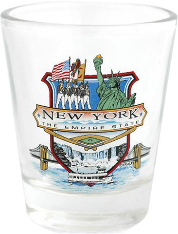 GLNY08 Shot Glass The Empire State New York