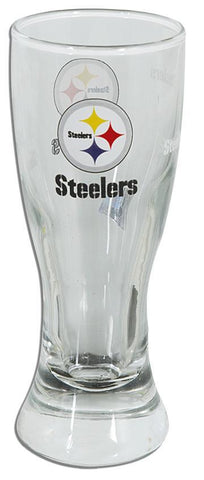 GLST02 4 Mini Pilsner Satin Etch Pittsburgh Steelers