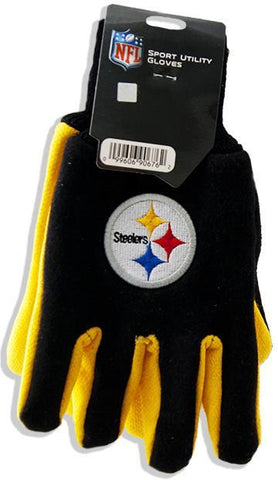 GVST2 Gloves - Pittsburgh Steelers GOLD / BLACK