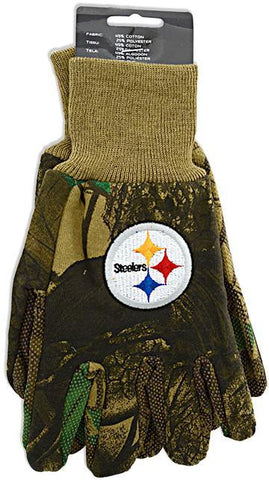 GVST3 Gloves - Pittsburgh Steelers CAMO
