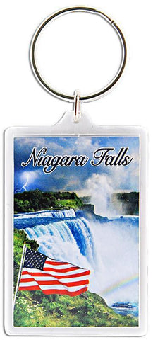 KRNF04 Key Ring 2x3 Lucite Niagara Falls Photos
