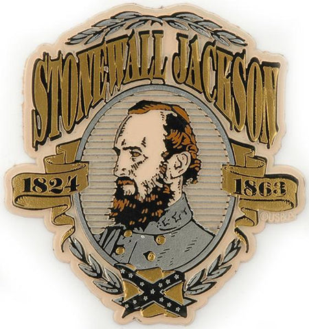MGCW21 Rubber Magnet Large Stonewall Jackson
