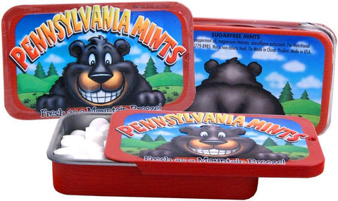 MSPA2 Mints in Tin with Bear Pennsylvania