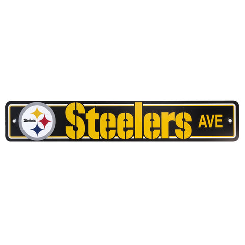 MSST1 Street Sign - Pittsburgh Steelers
