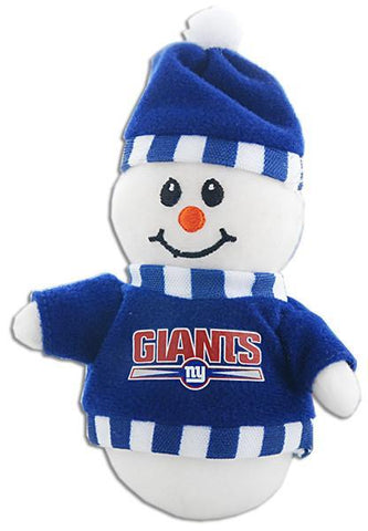 ORNG5 Ornament Plush Snowman NY Giants