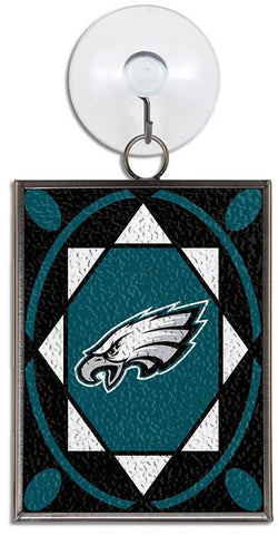 ORPE2 Ornament Stained Glass Philadelphia Eagles