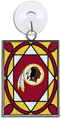 ORWR1 Ornament Stained Glass Washington Redskins