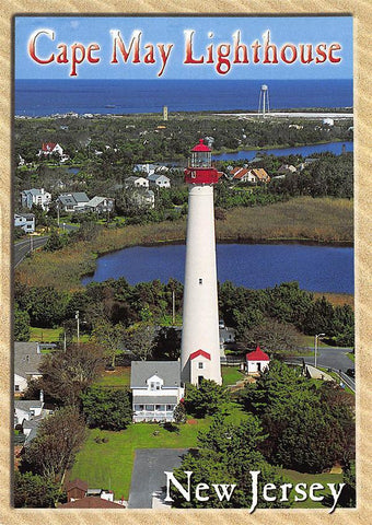 PCNJ011 Set 50 X Postcards 4X6 New Jersey Cape May Lighthouse