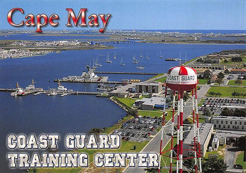 PCNJ013 Set 50 X Postcards 4X6 New Jersey Cape May Coast Guard