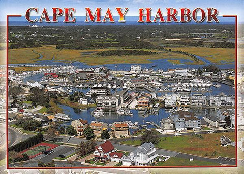 PCNJ014 Set 50 X Postcards 4X6 New Jersey Cape May Harbor