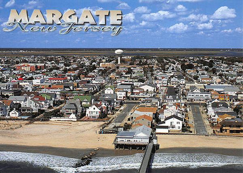 PCNJ020 Set 50 X Postcards 4X6 New Jersey Margate Aerial