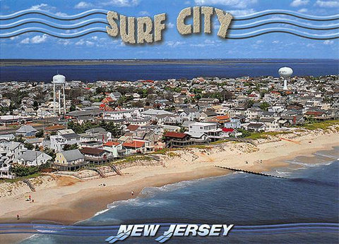 PCNJ024 Set 50 X Postcards 4X6 New Jersey Surf City