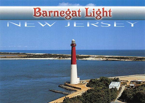PCNJ030 Set 50 X Postcards 4X6 New Jersey Barnegat Lighthouse