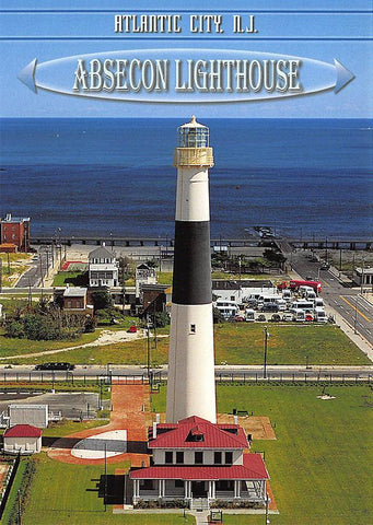 PCNJ032 Set 50 X Postcards 4X6 New Jersey Abescon Lighthouse