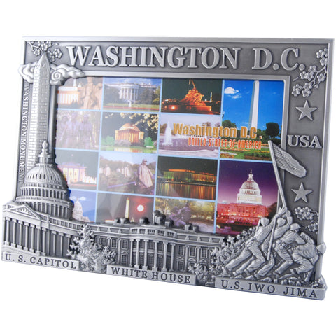 PFDC03 Picture Frame / Silver - Washington DC