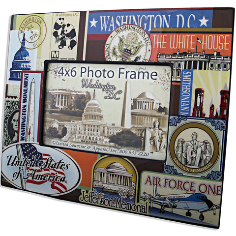 PFDC05 Picture Frame - 8x10 for 4x6 Wash DC Vintage