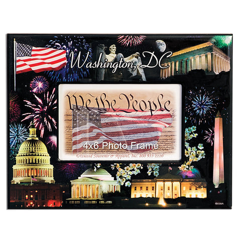PFDC06 Picture Frame - 8x10 for 4x6 Wash DC Fireworks