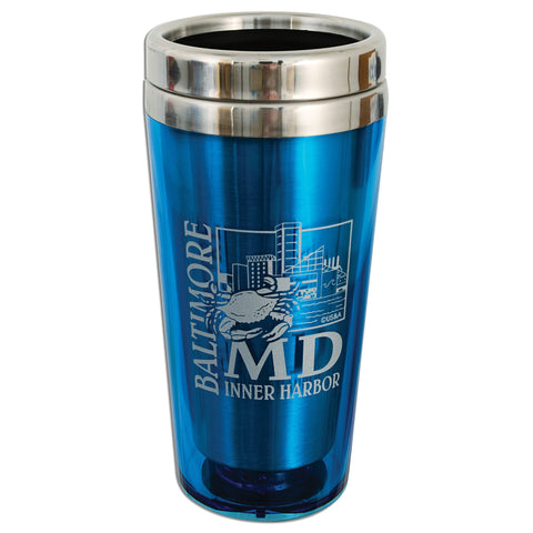 PMBM3 Insulated Stainless Steel Mug - Baltimore LIGHT BLUE