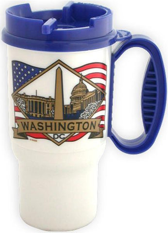 PMDC04 Insulated Car Mug - Washington, DC Diamond