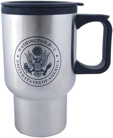 PMDC06 Stainless Steel Insulated Mug - Washington, DC USA Seal