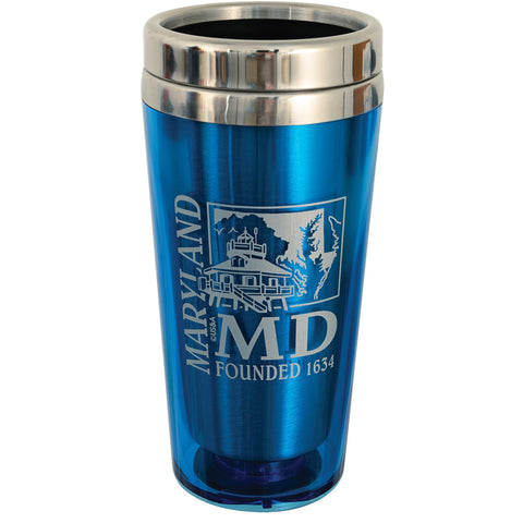PMMD3 Insulated Stainless Mug - Maryland LIGHT BLUE