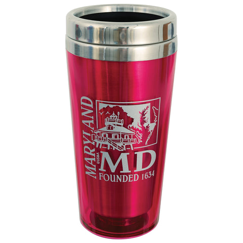 PMMD4 Insulated Stainless Mug - Maryland PINK