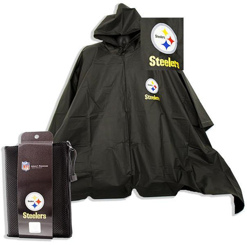 RPST1 Rain Poncho - Pittsburgh Steelers