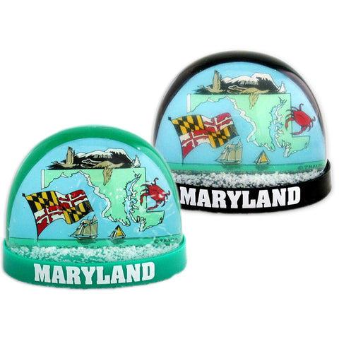 SNMD2 Snow Globe Large Maryland