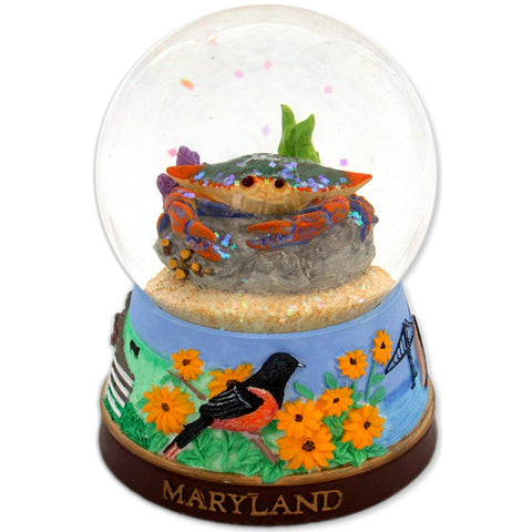 SNMD4 Water Globe Glass 65mm Maryland Color