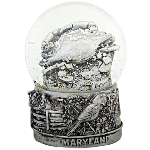 SNMD7 Water Globe Glass 65mm Maryland Pewter